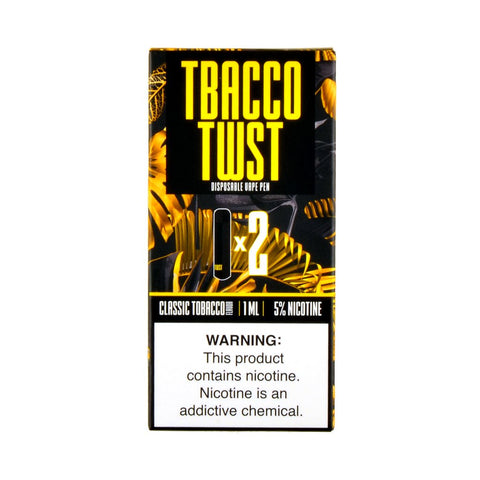 TWST - TWST Disposable Vape Pen Classic Tobacco - Drops of Vapor