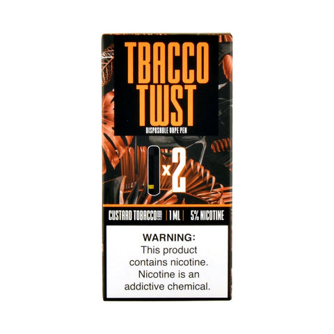 TWST - TWST Disposable Vape Pen Custard Tobacco - Drops of Vapor