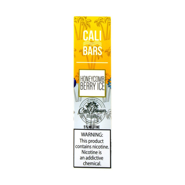 Cali Bars - Cali Bars Disposable Vape Pen HoneyComb Berry Ice - Drops of Vapor
