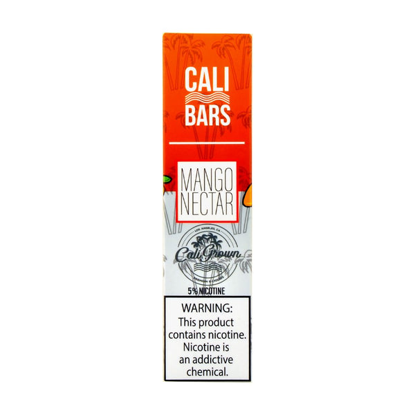Cali Bars - Cali Bars Disposable Vape Pen Mango Nectar - Drops of Vapor