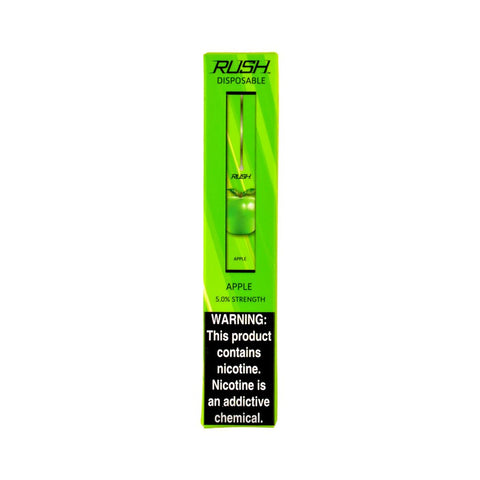 X2O - Rush Disposable Vape Device Apple - Drops of Vapor