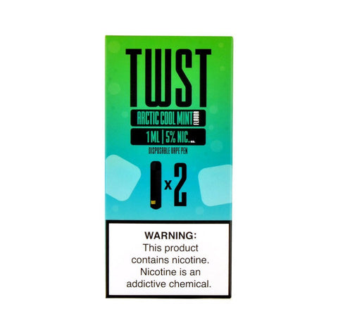 TWST - TWST Disposable Vape Pen Arctic Cool Mint - Drops of Vapor