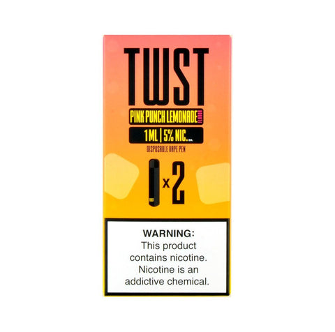 TWST - TWST Disposable Vape Pen Pink Punch Lemonade - Drops of Vapor