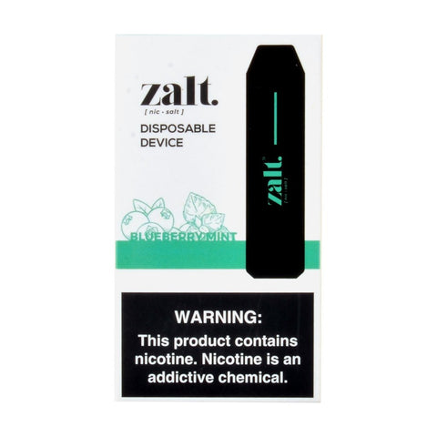 Zalt - Zalt 3 Disposable Pod Devices Blueberry Mint - Drops of Vapor
