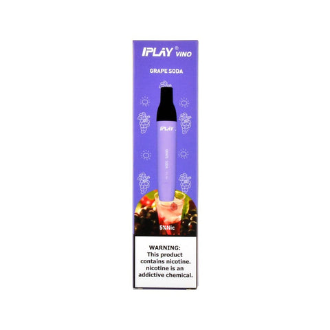 IPLAY - IPLAY Vino Disposable Device Grape Soda - Drops of Vapor