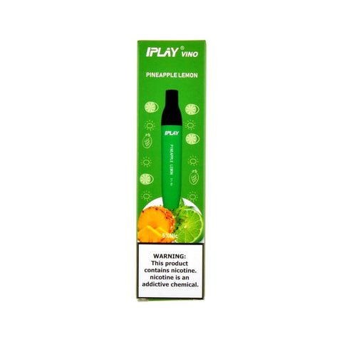 IPLAY - IPLAY Vino Disposable Device Pineapple Lemon - Drops of Vapor