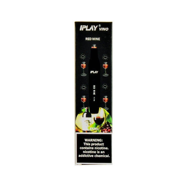 IPLAY - IPLAY Vino Disposable Device Red Wine - Drops of Vapor