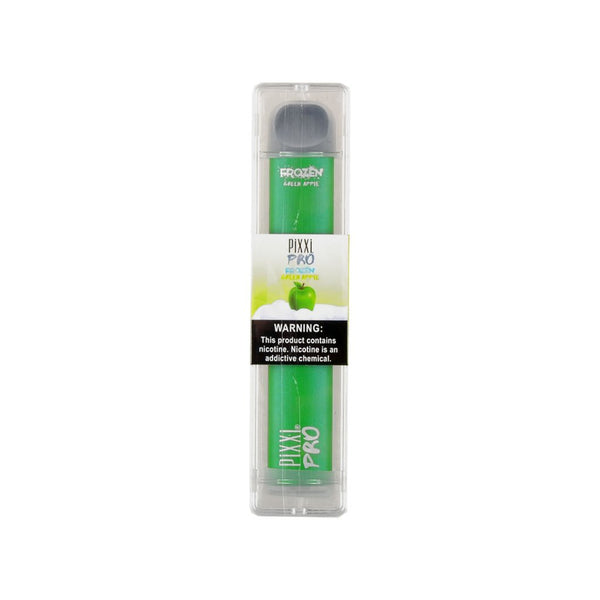 Pixxi Pro Disposable Vape Device Frozen Green Apple