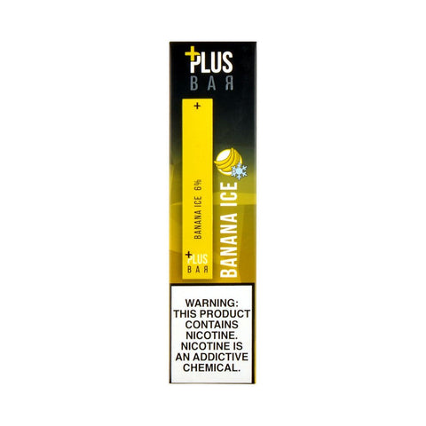 Plus Pods - Plus Bar Disposable Device Banana Ice - Drops of Vapor