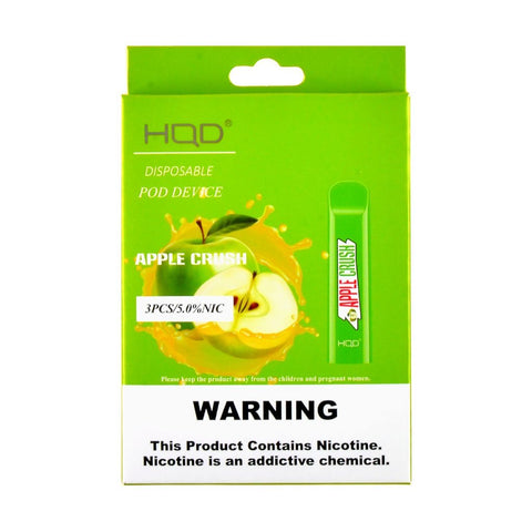 HQD Disposable Pod Device Apple Crush