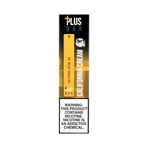 Plus Bar Disposable Device California Cream