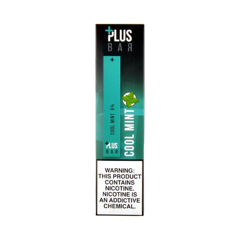 Plus Bar Disposable Device Cool Mint