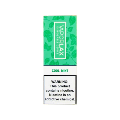 VaporLax Max Disposable Vape Cool Mint