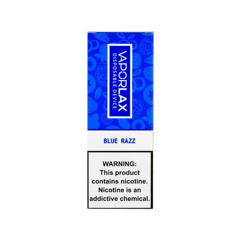 VaporLax Max Disposable Vape Blue Razz