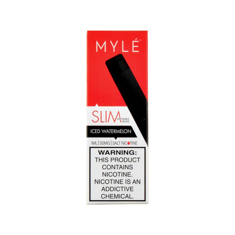 Myle Mini 2 Disposable Device Iced Watermelon