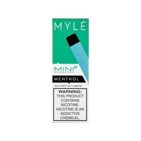 Myle Mini 2 Disposable Device Menthol