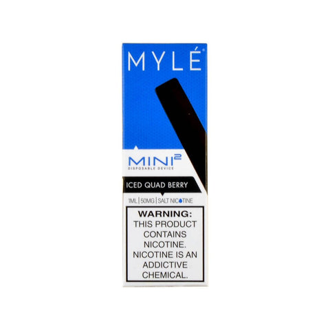 Myle Mini 2 Disposable Device Iced Quad Berry