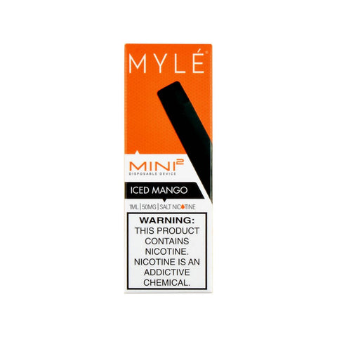 Myle Mini 2 Disposable Device Iced Mango