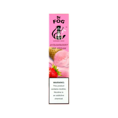 Dr. Fog Disposable Device Strawberry Ice Cream