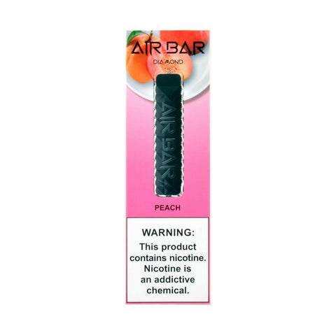 Air Bar Diamond Disposable Device Peach