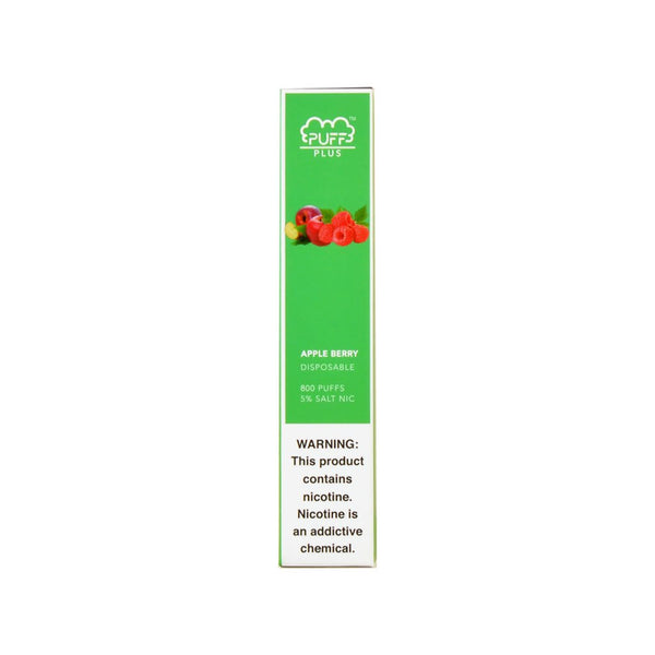 Puff Bar Plus Disposable Device Apple Berry