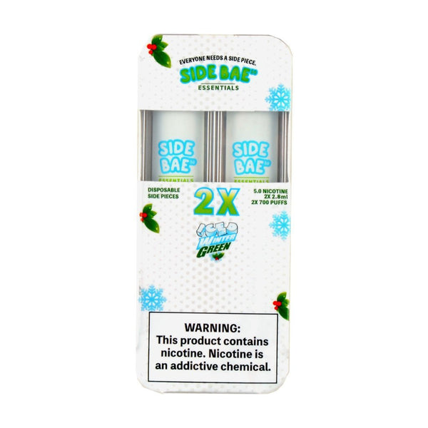 Side Bae 50 Disposable Vape Iced Winter Green 2ct