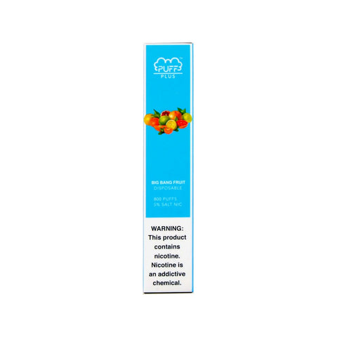Puff Bar Plus Disposable Device Big Bang Fruit