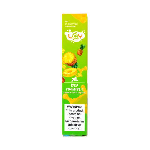 Loy XL Disposable Vape Iced Pineapple