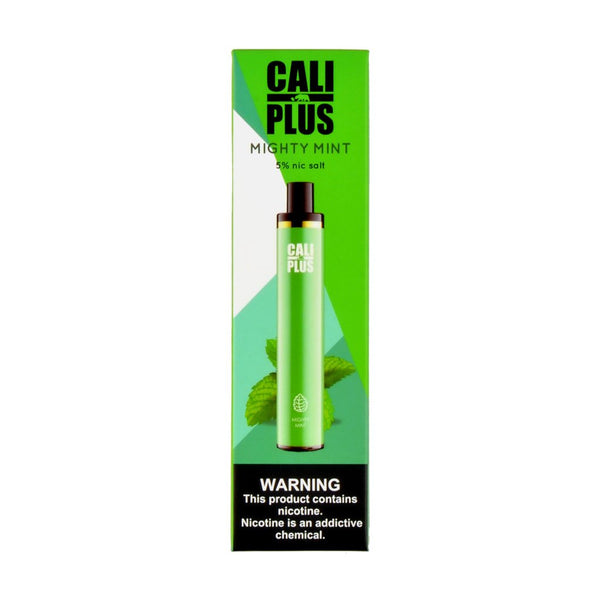Cali Plus Disposable Vape Pen Mighty Mint