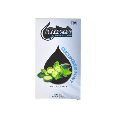 airbender - Airbender Cucumber Mint 4 Pods - Drops of Vapor