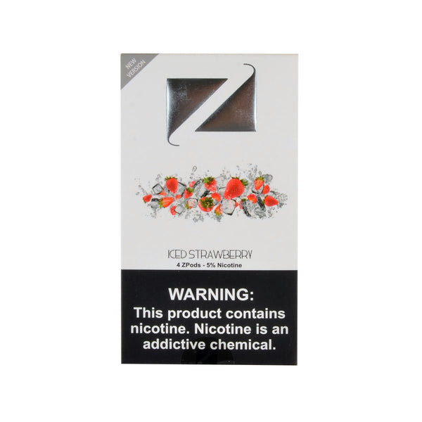 Ziip Iced Strawberry 4 ZPods