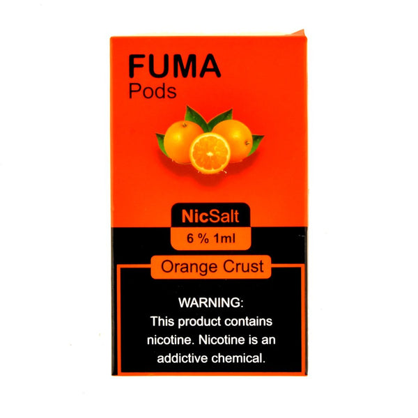 Fuma - Fuma Orange Crust 4 Pods - Drops of Vapor