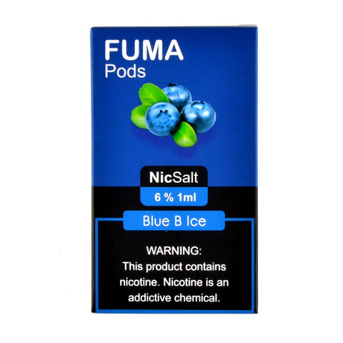 Fuma - Fuma Blue B Ice 4 Pods - Drops of Vapor