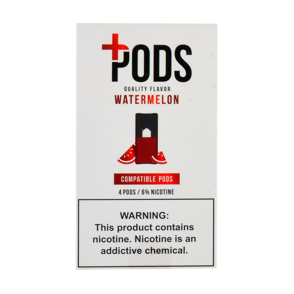 Plus Pods - Plus Pods Watermelon Pack of 4 - Drops of Vapor