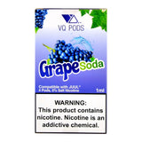 VQ PODS Grape Soda 4 Pods