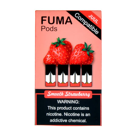 Fuma - Fuma Smooth Strawberry 4 Pods - Drops of Vapor