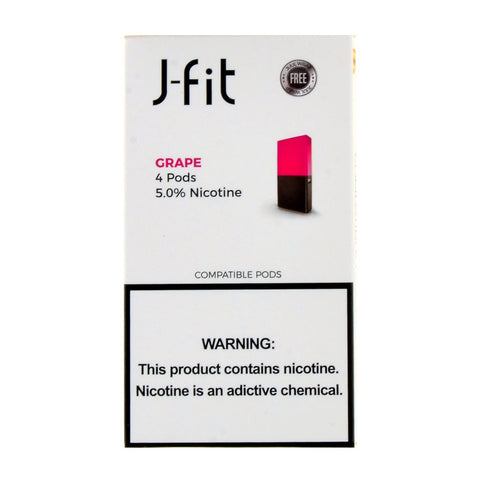 J-Fit - J-Fit Grape 4 Pods - Drops of Vapor