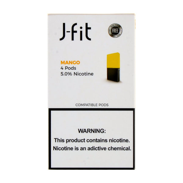 J-Fit - J-Fit Mango 4 Pods - Drops of Vapor