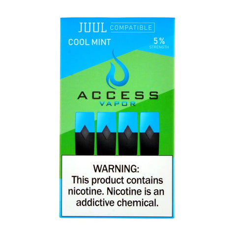 Access Vapor - Access Vapor Cool Mint 4 Pods - Drops of Vapor