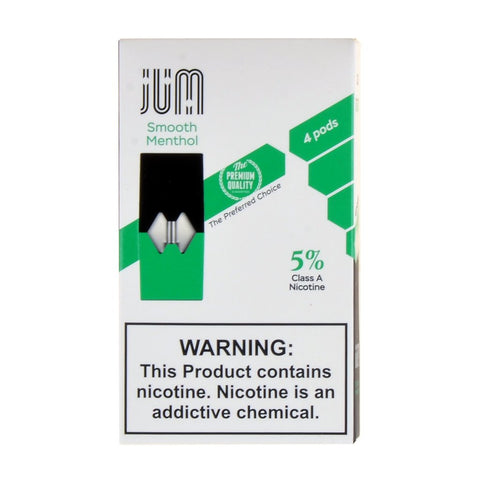 Jum - Jum Smooth Menthol 4 Pods - Drops of Vapor