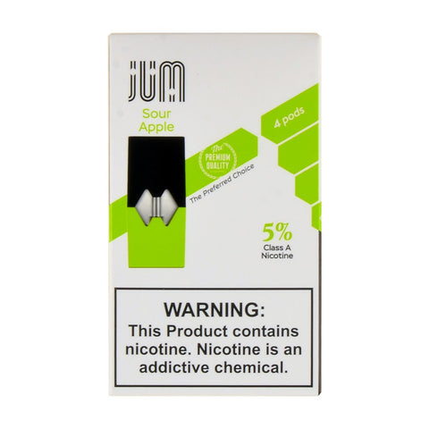 Jum - Jum Sour Apple 4 Pods - Drops of Vapor