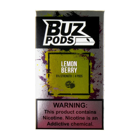Buz - Buz Lemon Berry 4 Pods - Drops of Vapor