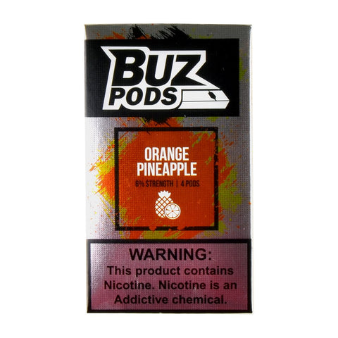 Buz - Buz Orange Pineapple 4 Pods - Drops of Vapor