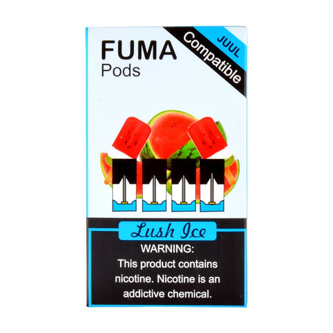Fuma - Fuma Lush Ice 4 Pods - Drops of Vapor