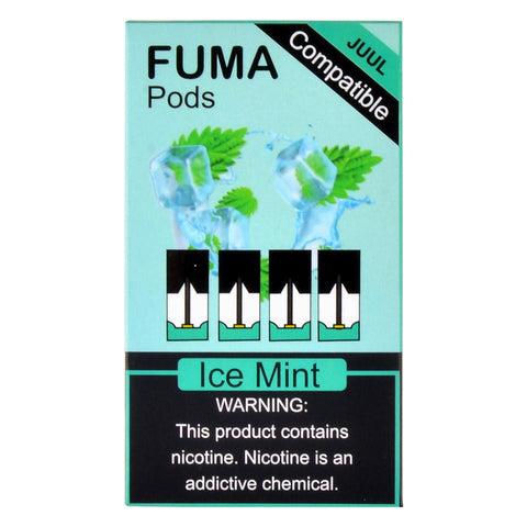 Fuma - Fuma Ice Mint 4 Pods - Drops of Vapor