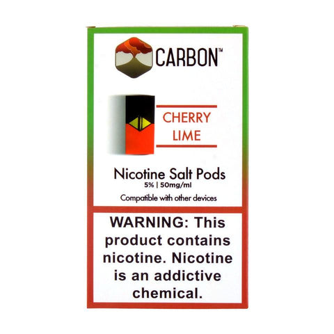 Carbon - Carbon Cherry Lime 4 Pods - Drops of Vapor