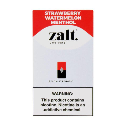 Zalt Strawberry Watermelon Menthol 4 Pods
