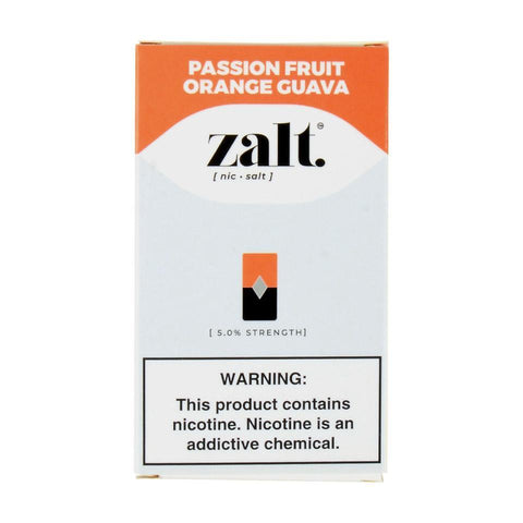 Zalt Passion Fruit Orange Guava 4 Pods