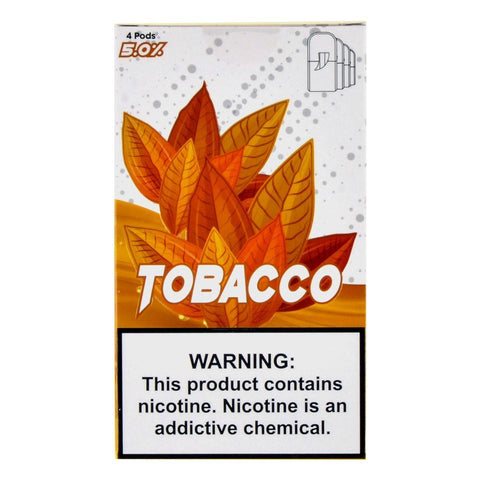 Skol - Skol Tobacco 4 Pods - Drops of Vapor