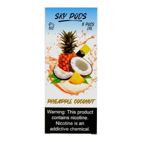 Sky Pods - Sky Pods Pineapple Coconut 5 Pods - Drops of Vapor